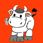 Cows coloring pages for kids