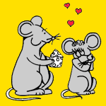Mice coloring pages