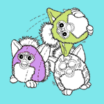 Furbies coloring pages