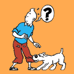 Tintin coloring pages