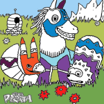Viva Piñata coloring pages
