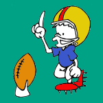 Football and Rugby coloring pages for kids