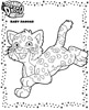animal coloring pages, animals coloring page color plate, coloring sheet, Jaguar coloring page