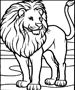 Lion coloring pages, tiger coloring page color plate, coloring sheet, printable coloring picture