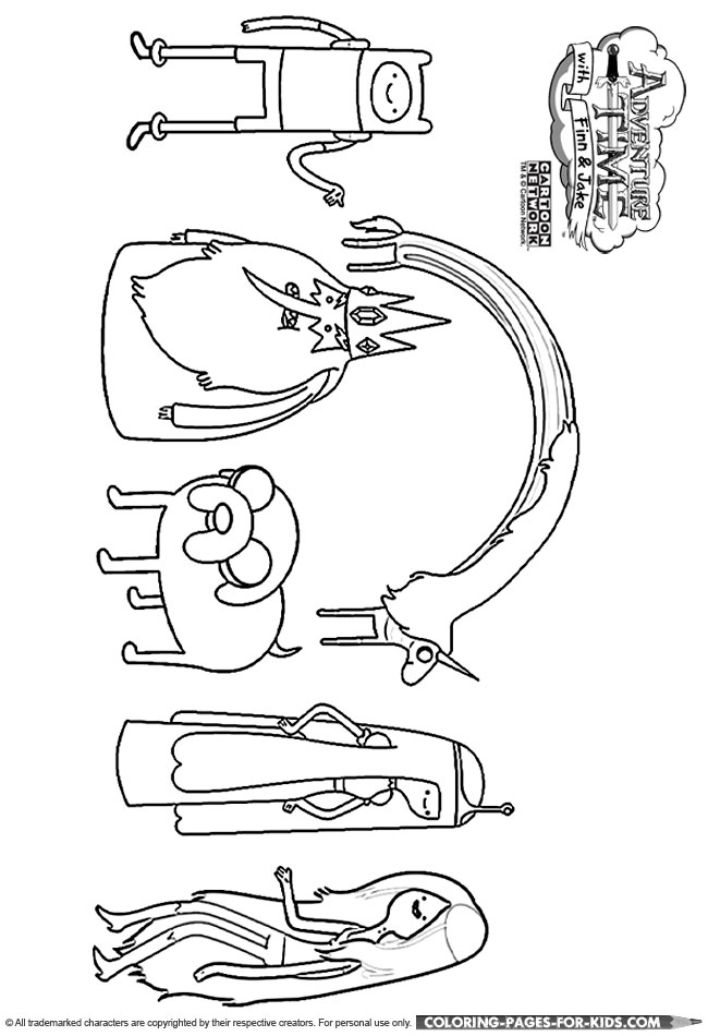 jake and finn adventure time coloring pages - adventure time coloring page adventure time