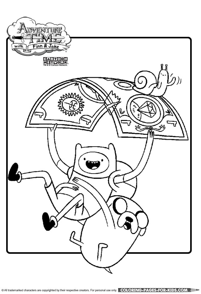 adventure time characters coloring pages - photo#18