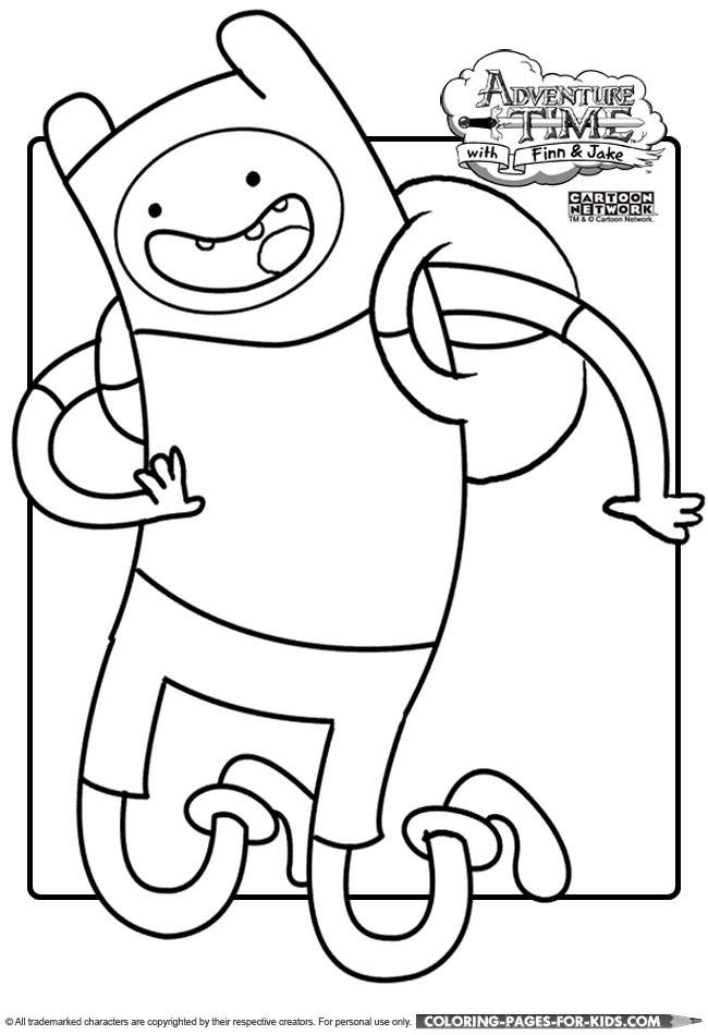 coloring pages of adventure time - photo#17