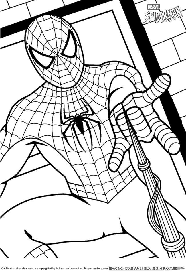 Iron Spiderman Coloring Pages Coloring Pages